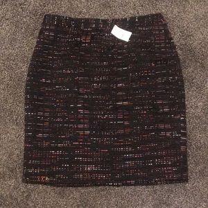 Loft Tweed skirt size 4